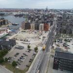 CG Jensen, Sluseholmen, kanaler, udgravning, gravemaskine, ny bydel, sydhavnen, anlæg øst, jord, kloak, forsyning