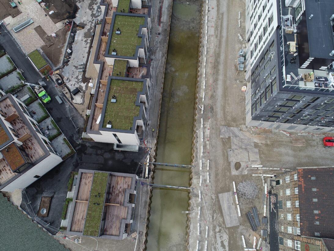 CG Jensen, enghave brygge, ramning, vandbygning, jord, kloak, forsyning
