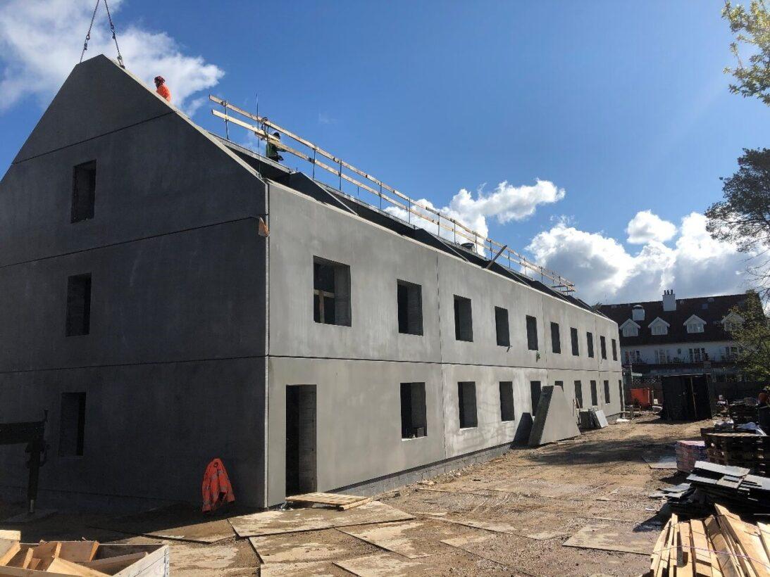 CG Jensen, hovedentreprise, elementmontage, beton, fredensborg, kro