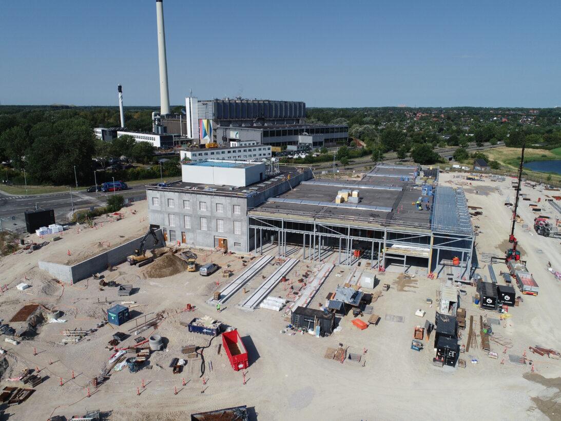 CG Jensen, CMC, Letbane, Hovedstadens Letbane, stål, elementmontage, kontolcenter