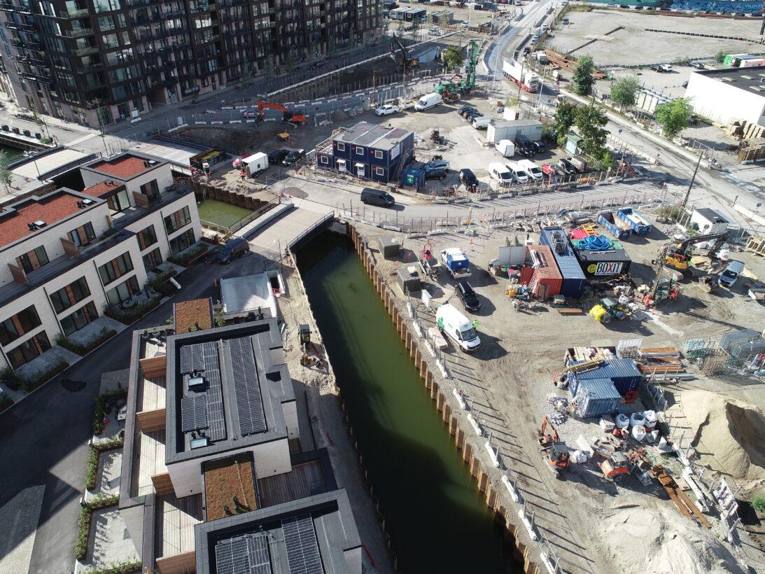 kanaler, enghave brygge, udgravning, CG Jensen, ny bydel