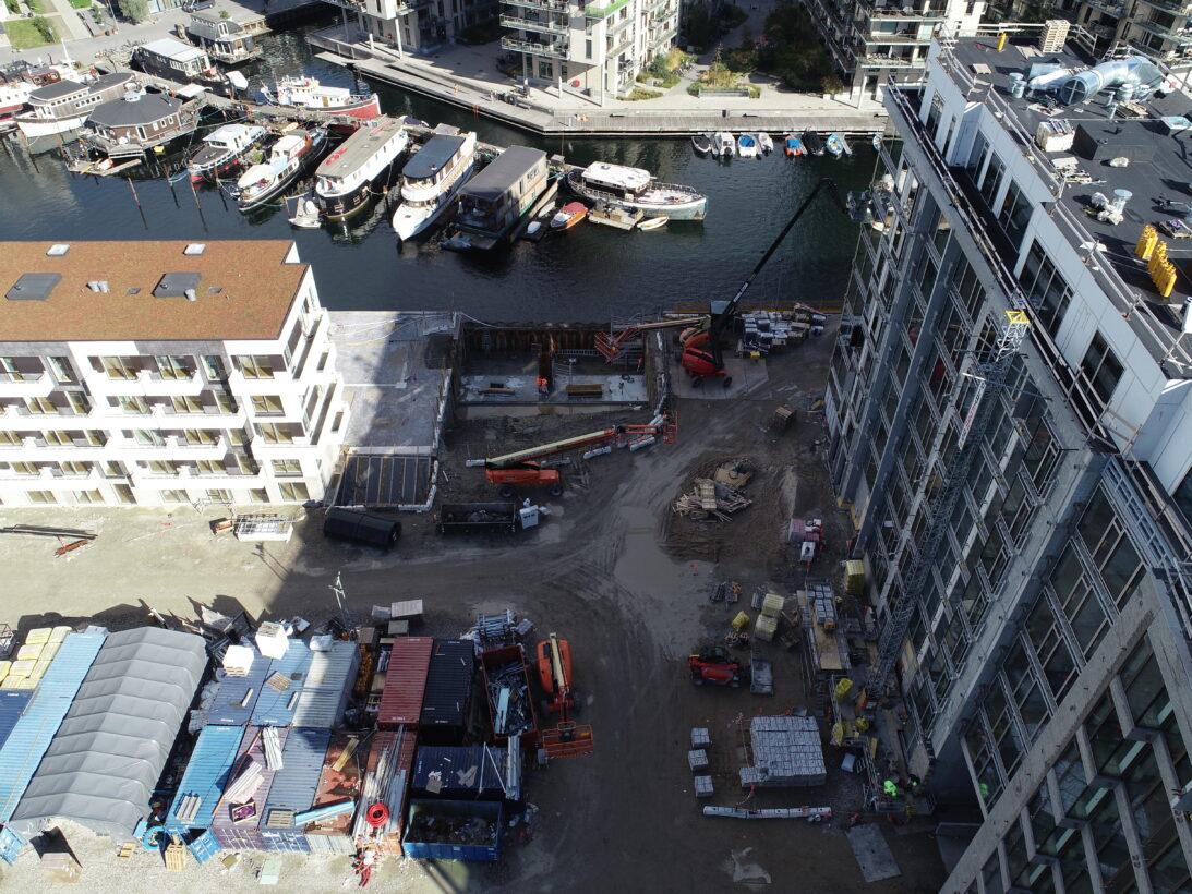 Enghave brygge, udgravning, kanaler, CG Jensen
